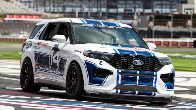 Ford Explorer ST Track SUV Built for Ford Performance Racing School
