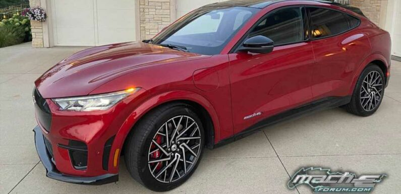 Ford Kicks Off Mustang Mach-E GT Deliveries Early