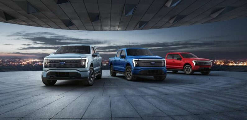 Ford Reports Robust Growth in EV Sales, Orders