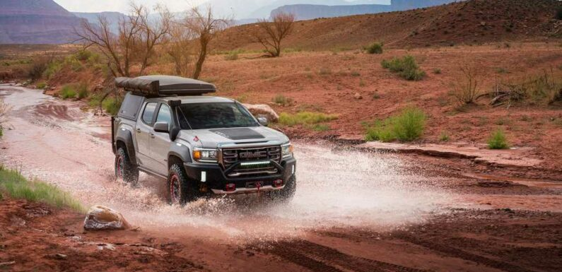 GMC Canyon AT4 OVRLANDX Off-Road Concept Build