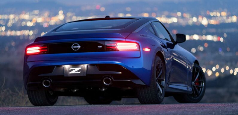 Hear The 2023 Nissan Z Rev Its 400-Horsepower Twin-Turbo V6 Engine