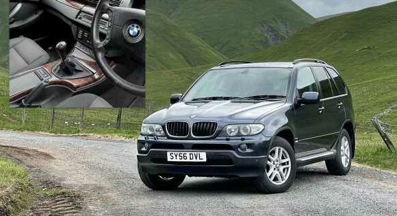 I Bought A Stupidly Rare Manual BMW X5, And It's A Far Better Car Than I'd Anticipated