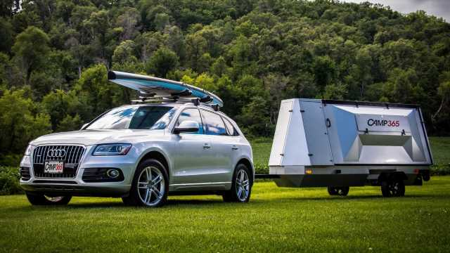 Is the Camp365 Fold-Out Compact Camper Trailer the Future of Camping?