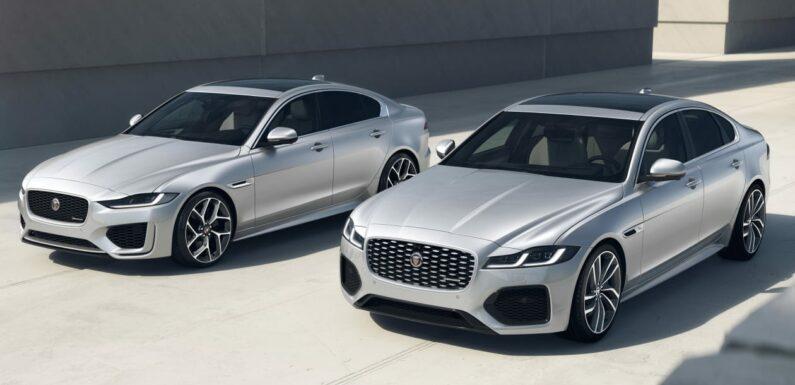 Jaguar XE and XF gain R-Dynamic Black models