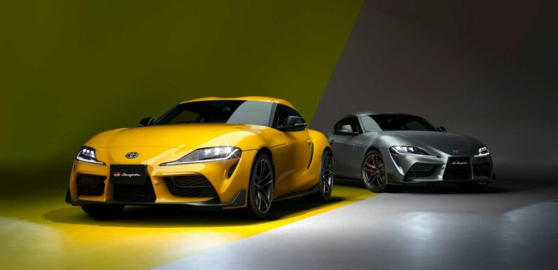 Japan Gets Special 35th Anniversary Toyota Supra Special Editions