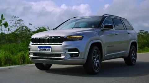 Jeep Meridian (Commander) leaked ahead of official debut
