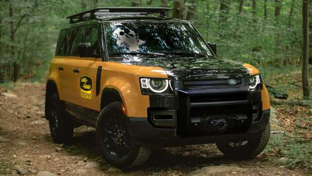 Limited-run Land Rover Defender Trophy Edition unveiled