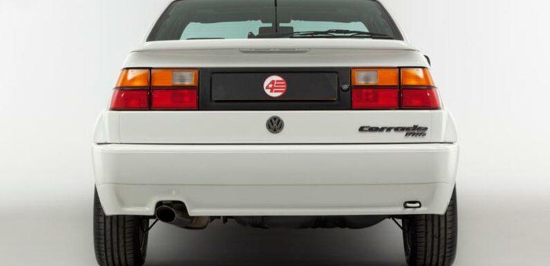 Low-mile Volkswagen Corrado VR6 for sale