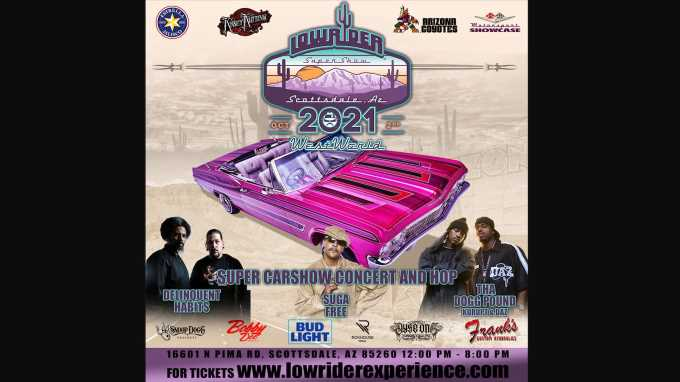Lowrider Super Show Tour Hits Arizona in October
