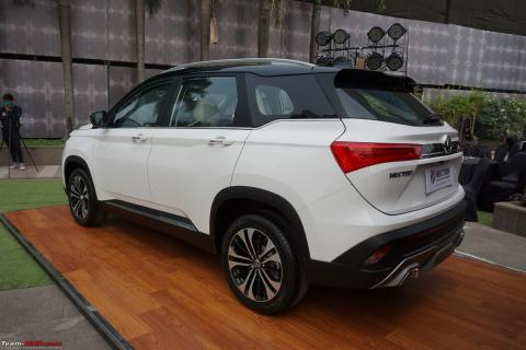 MG Hector Shine variant to be launched on August 12