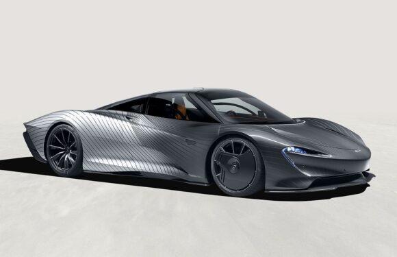 MSO 'Albert' pays homage to Speedtail prototypes
