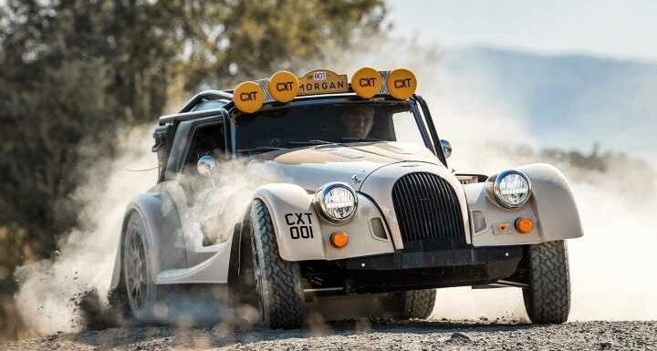 Morgan CX-T takes Plus Four off-road