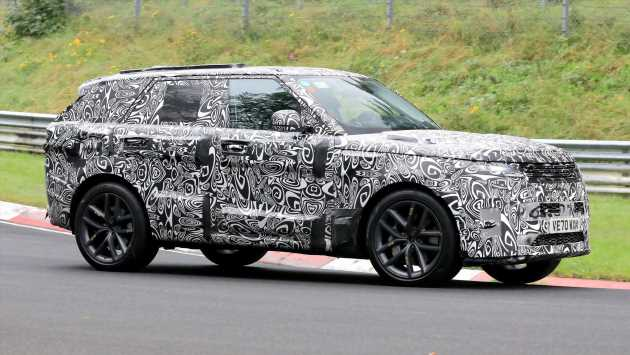 New 2022 Range Rover Sport spied in sporty SVR trim