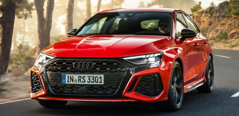 New 395bhp Audi RS 3 hot hatchback priced from £50,900