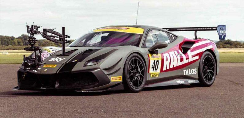New Ferrari 488 Camera Car Could Be World's Fastest Film Rig