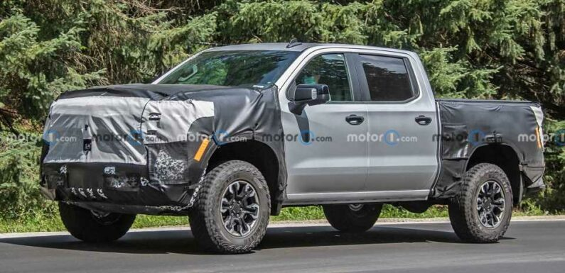 Next-Gen Chevy Silverado Spied From Basic To Blinged Out