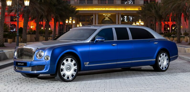 No-one Bought These Bentley Mulsanne Grand Limousines So Now's Your Chance