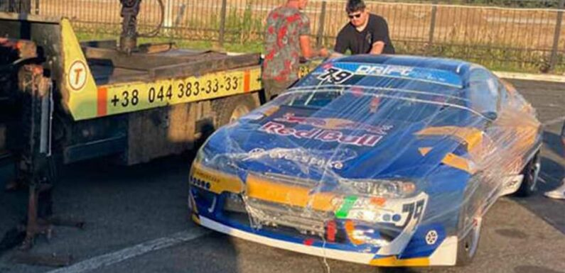Red Bull Sorry for Unauthorized Drift Shoot After Ukraine Confiscated Its Cars