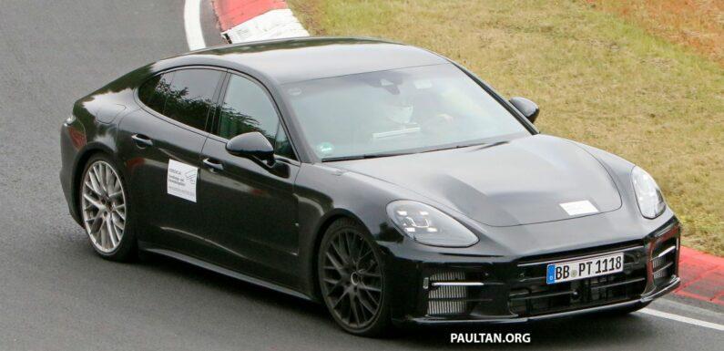 SPIED: 971 Porsche Panamera second facelift on test? – paultan.org