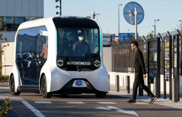 Self-Driving Toyota Shuttle Hits 'Visually Impaired' Pedestrian in Tokyo Olympic Village