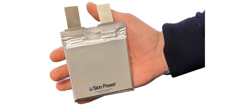 Sion Power To Introduce Licerion-EV Cell At Battery Show NA