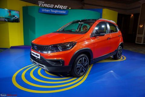 Tata Tiago NRG features & observations: We got a close look