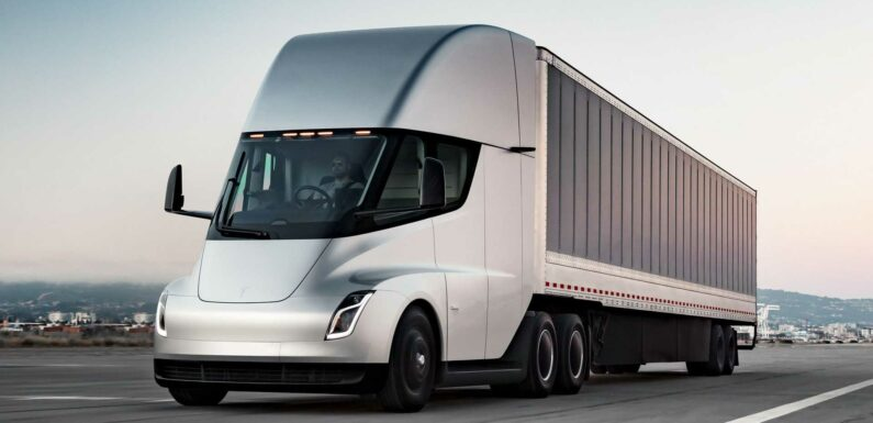 Tesla Semi Payload To Be At Least As High As For A Diesel Truck