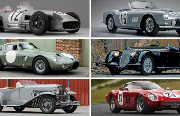 These are the 20 Most Expensive Cars Ever Sold at Auction