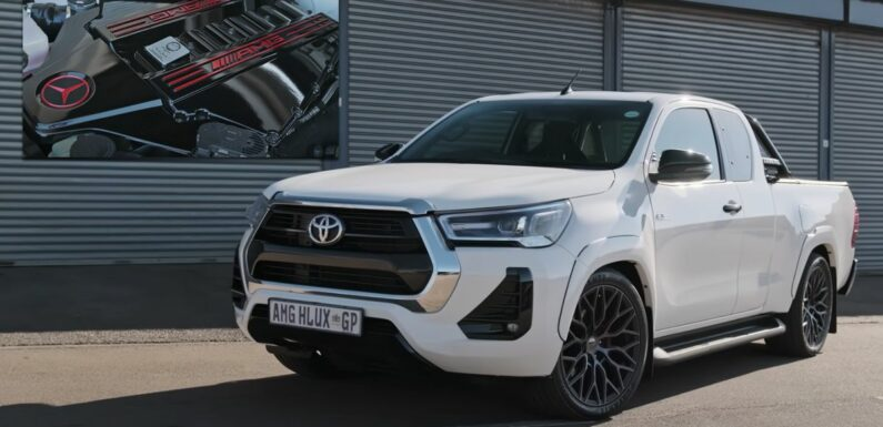 This AMG 6.2 V8-Engined Toyota Hilux Was Born Out Of Mercedes X-Class Disappointment
