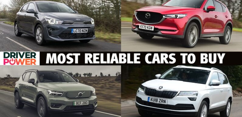 Top 10 most reliable cars to buy