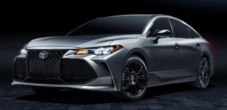 Toyota Avalon to be officially discontinued in the US – paultan.org