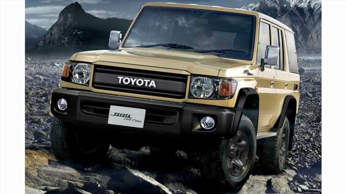Toyota Celebrates 70 Years of Land Cruiser With Special 70 Series Model