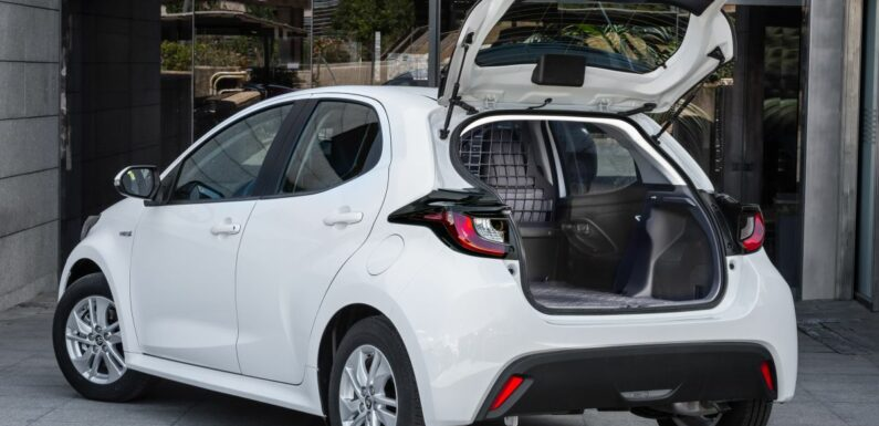 Toyota Yaris ECOVan debuts – hatchback converted into light commercial vehicle; 720 litres of boot space – paultan.org