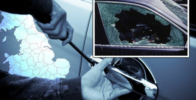 UK car theft hotspots named – where does your postcode rank?