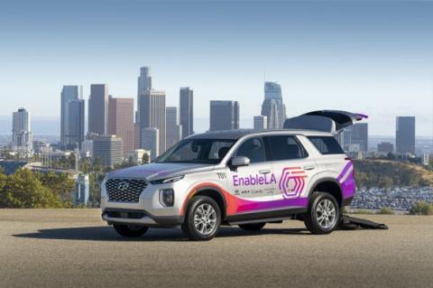 USA: Hyundai & Kia offers wheelchair-accessible SUV service