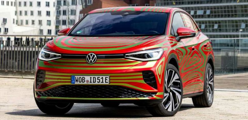 VW ID.5 GTX Concept Teased Ahead Of September Debut In Munich