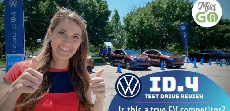 Volkswagen ID.4 Electric SUV: Miss GoElectric's Test Drive Review