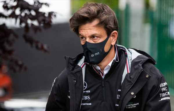 Wolff quizzed about Russell again after mega lap