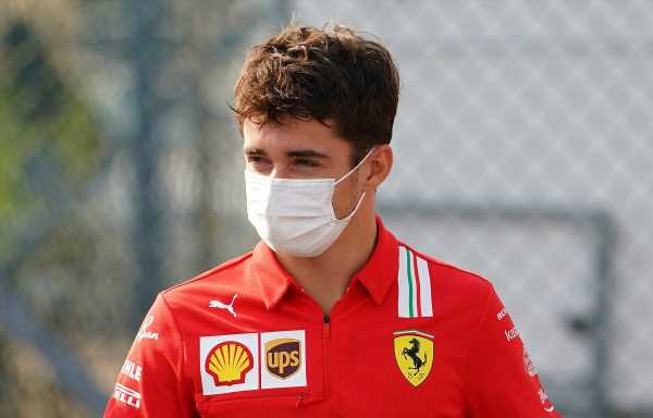 'Slightly unwell' Charles Leclerc under medical supervision