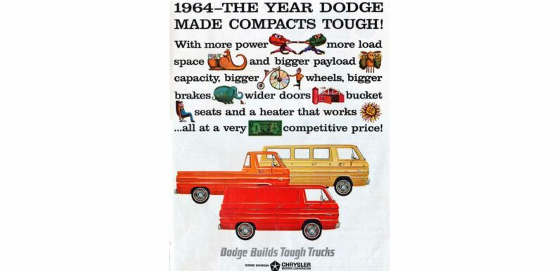 1964: Crush Your VW Bus and Buy the Tough Dodge A100!