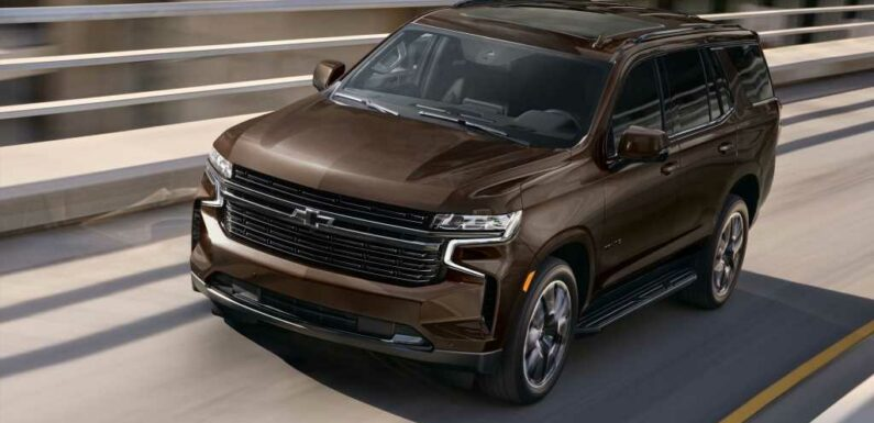2022 Chevy Tahoe, Suburban Get Upgraded Engine Options, Better Tech