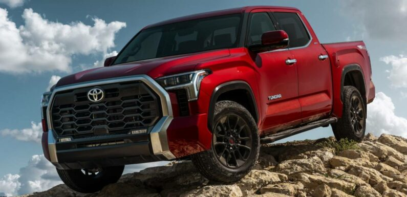 2022 Toyota Tundra – full-sized pick-up debuts with 3.5L twin-turbo V6, 10-spd auto; up to 437 hp, 790 Nm! – paultan.org