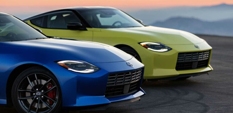 2023 Nissan Z's Design Chosen From 100 Proposals Submitted Globally
