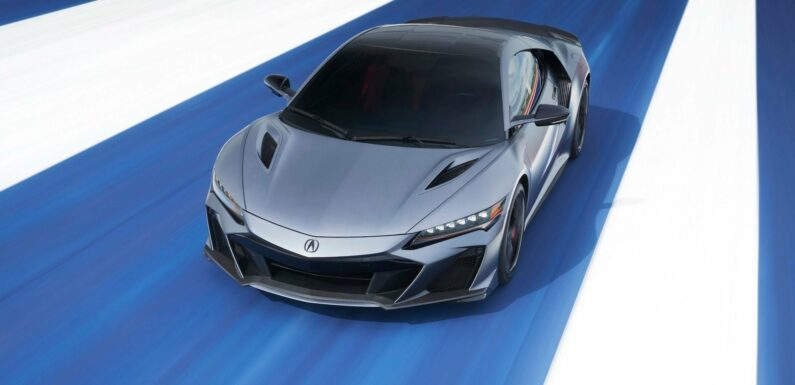 Acura's NSX Is Not Going Gently Into That Good Night