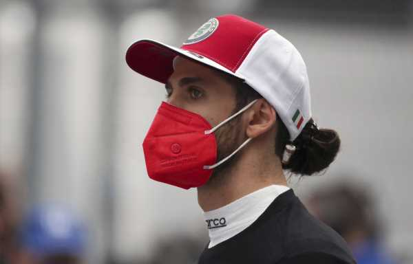 Antonio Giovinazzi: 'I'm happy with myself, but it's still not enough'
