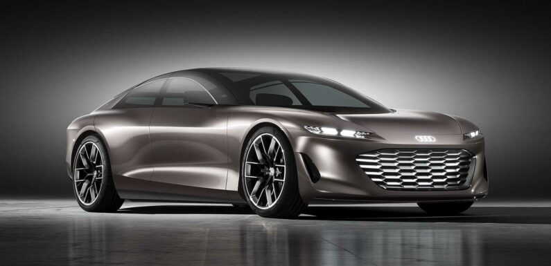 Audi Grandsphere Concept Shows Where Electric Sedans Are Going