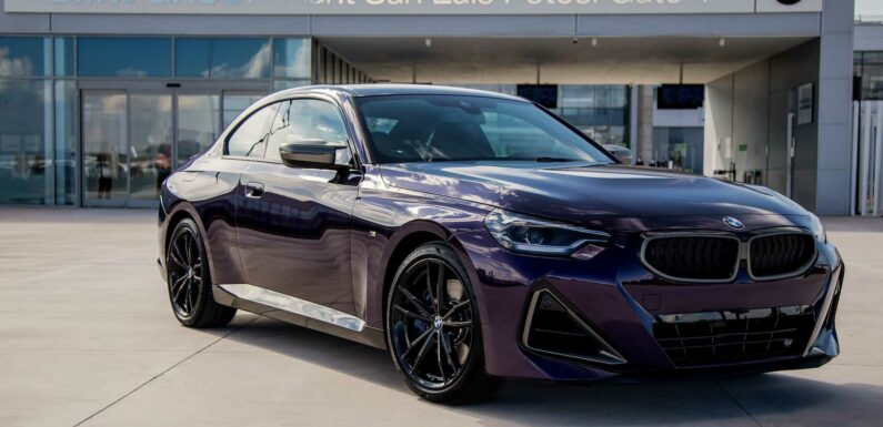 BMW Shows Off First 2 Series Coupe That's Made In Mexico