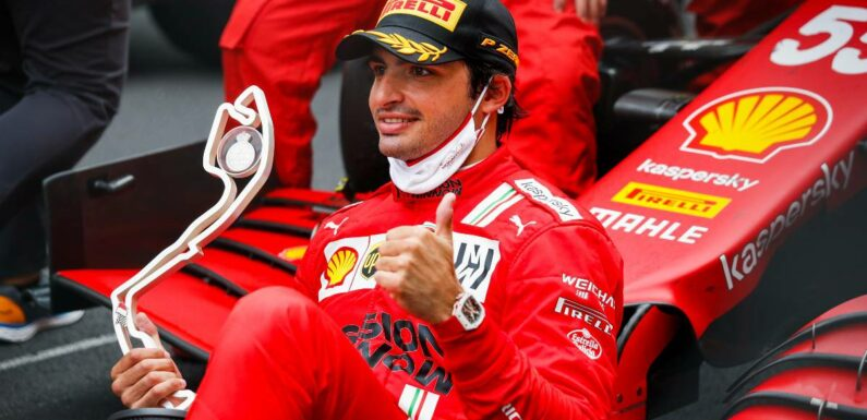Carlos Sainz doesn't want to be new Barrichello