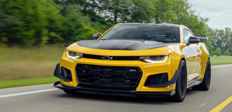 Chevy Camaro Ends in 2024 with Limited Collector's Edition?