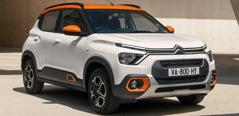 Citroen New C3 small SUV revealed for developing markets